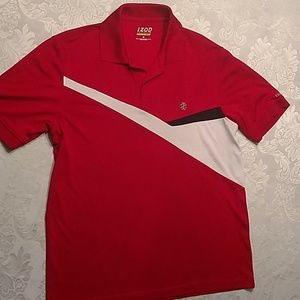 Izod men's medium golf polo shirt